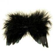 Крылышки чёрные, 13х10 см