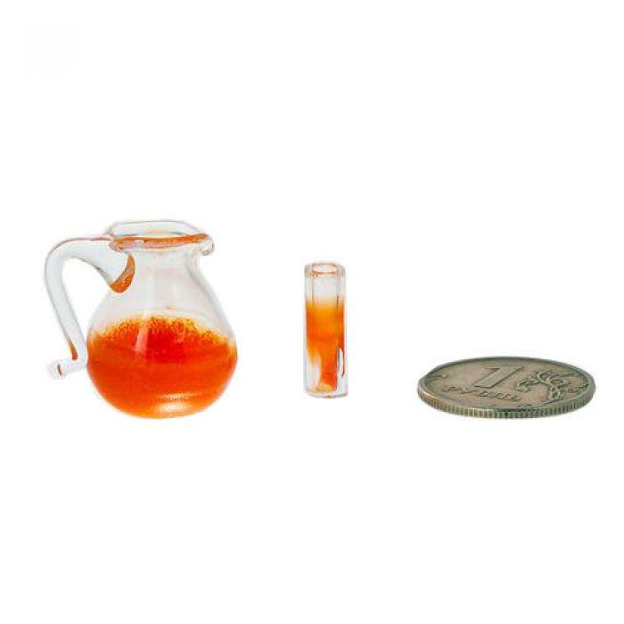 Графин и стакан с напитком для скрапбукинга
