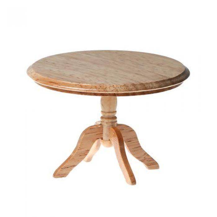Обеденный стол круглый, дуб для скрапбукинга