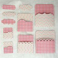 Кармашки розовые 01