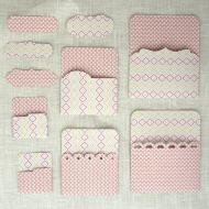Кармашки розовые 03