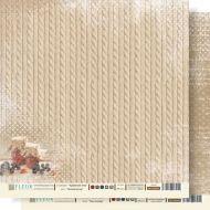Бумага уютный вечер из коллекции крафтовая зима