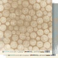 Бумага морозные узоры из коллекции крафтовая зима