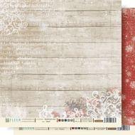 Бумага иней из коллекции крафтовая зима