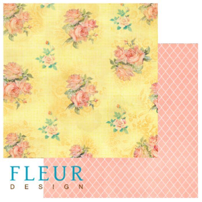 Бумага цветущее поле из коллекции следуй за мечтой для скрапбукинга