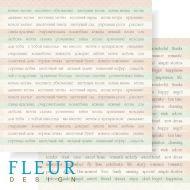 Бумага слова из коллекции цветущая весна