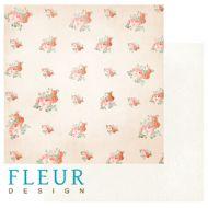 Бумага Букет для любимой, коллекция Цветущая весна