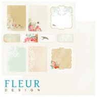 Бумага Карточки, коллекция Цветущая весна
