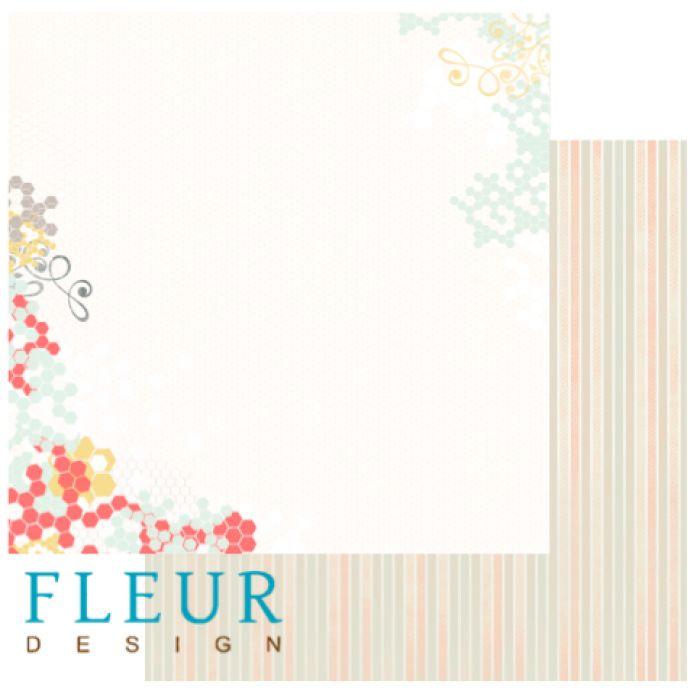 Бумага дыхание весны из коллекции новая весна для скрапбукинга