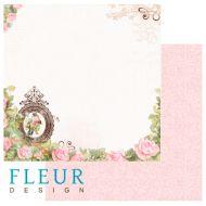 Бумага розовый сад из коллекции солнечное лето