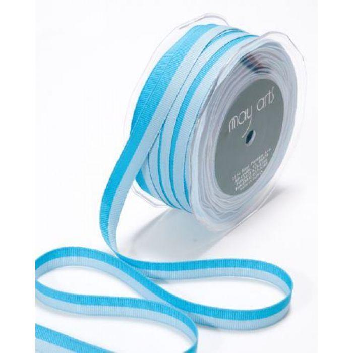 Лента бирюзово-голубая для скрапбукинга
