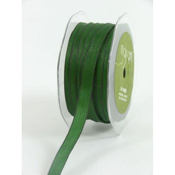 Лента зеленая для скрапбукинга