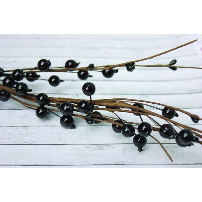 Веточка черноплодной рябины средняя для скрапбукинга