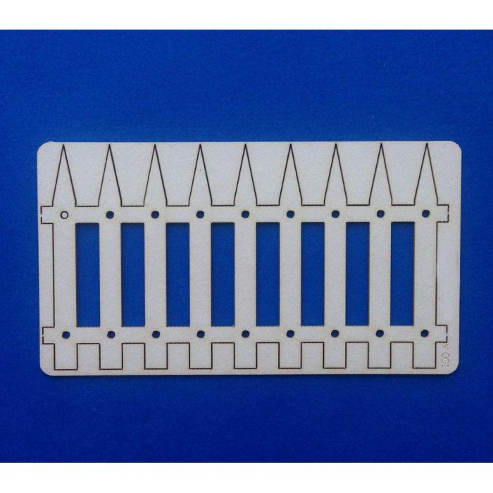 Чипборд забор частокол для скрапбукинга