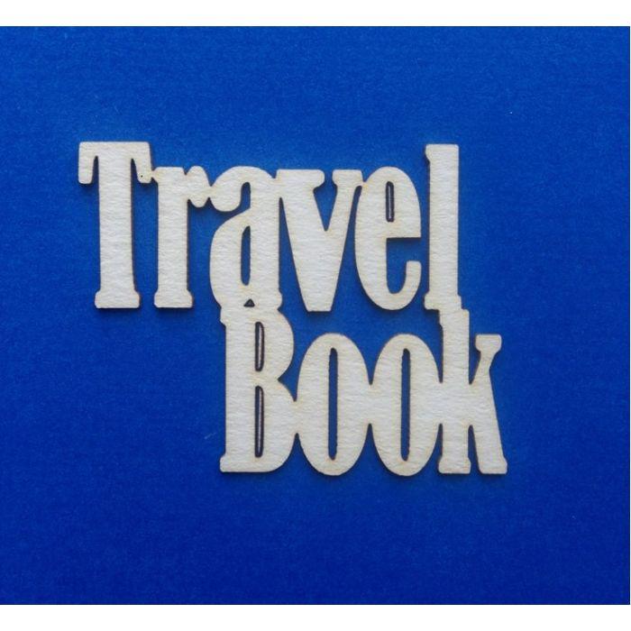 Чипборд travel book для скрапбукинга
