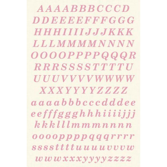 Наклейки, Алфавит для скрапбукинга