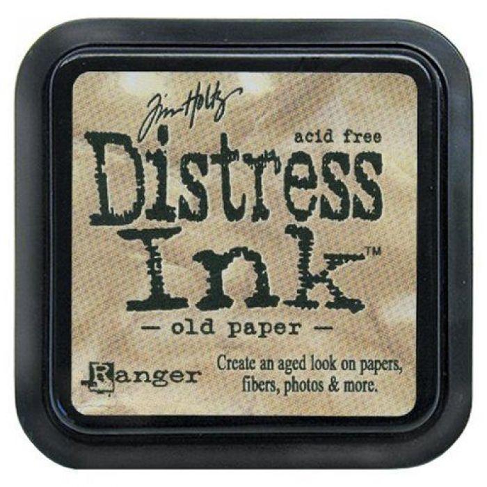 Дистрессинговые чернила, цвет Old Paper, Ranger Ink для скрапбукинга
