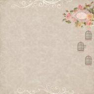 Бумага в тени кедра, коллекция французское путешествие