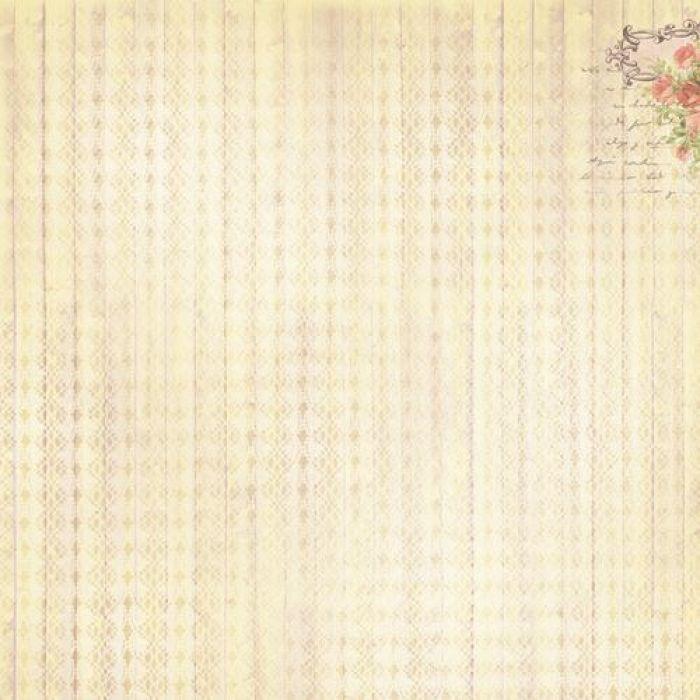 Бумага запах ванили, коллекция французское путешествие для скрапбукинга