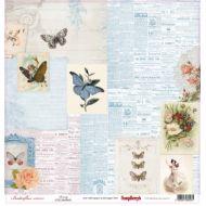 Бумага красота, коллекция бабочки