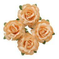 Цветы чайной розы бежевые