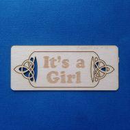 Чипборд It's a girl
