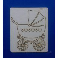 Чипборд детская коляска