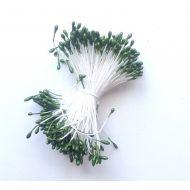 Тычинки капельки зеленые
