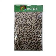 Фетр листовой леопард