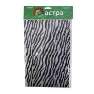Фетр листовой зебра