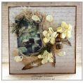 Бумага личный дневник из коллекции цветущая весна для скрапбукинга