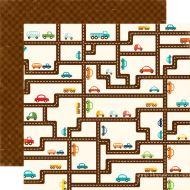 Бумага Road Map, коллекция Little Boy