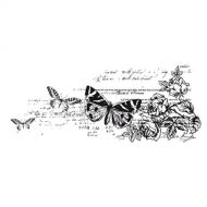 Текстурный штамп ботанический сад