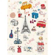 Рисовая бумага любимый Париж