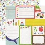 Бумага Journaling Cards, коллекция Paper and Glue