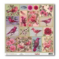 Бумага райские птицы, коллекция райские птицы