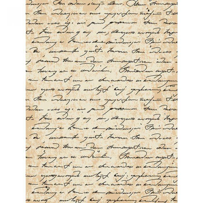Рисовая бумага старинная рукопись для скрапбукинга