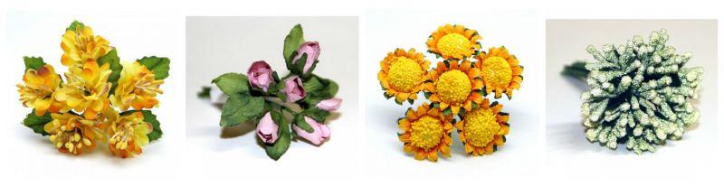 Новые цветы от компании рукоделие
